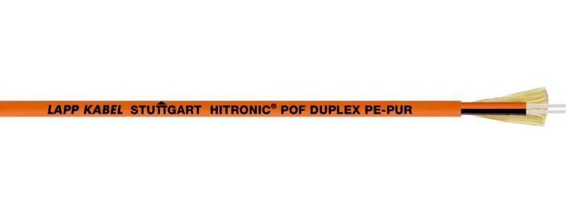 Cable HITRONIC® POF DUPLEX PE