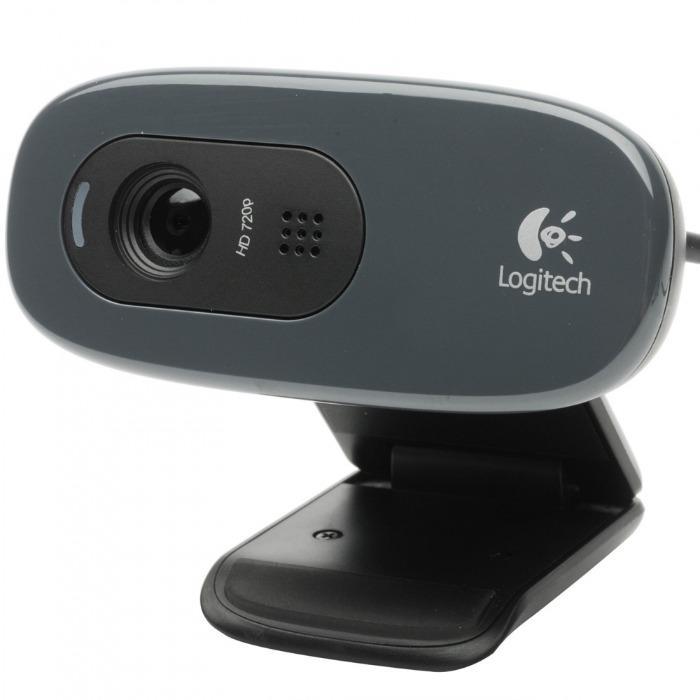 Kamera internetowa od Logitech - Kamera internetowa Logitech 960-001063 C270 czarna