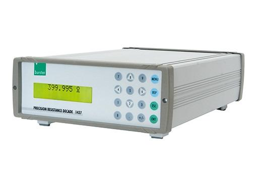 High-precision resistance decade box - 1427 - Computer-controlled, Accuracy 0.005 %,  simulation accuracy 0.02 °C, RS232