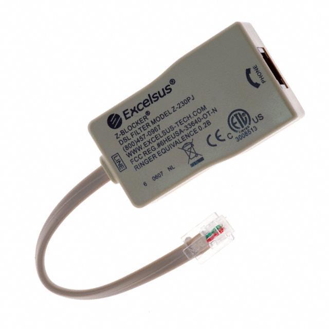 FILTER DSL SINGLE-JACK - Pulse Electronics Network Z-230PJ