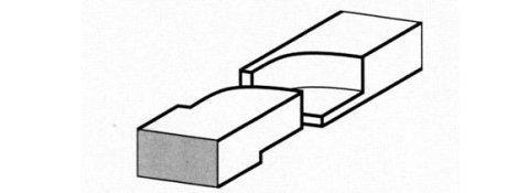 TBGR Taglio baionetta a tenuta di gas retto - Tipologie di taglio per fasce elastiche a Milano