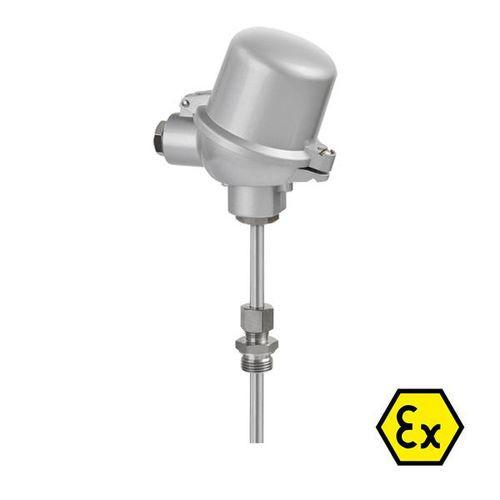 OPTITEMP TCA-P10 - Push-in thermocouple / abrasion-resistant