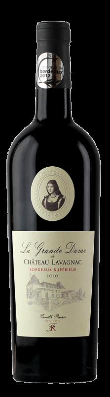 La Grande Dame de Château de Lavagnac - Bordeaux Supérieur - Famille Rivière