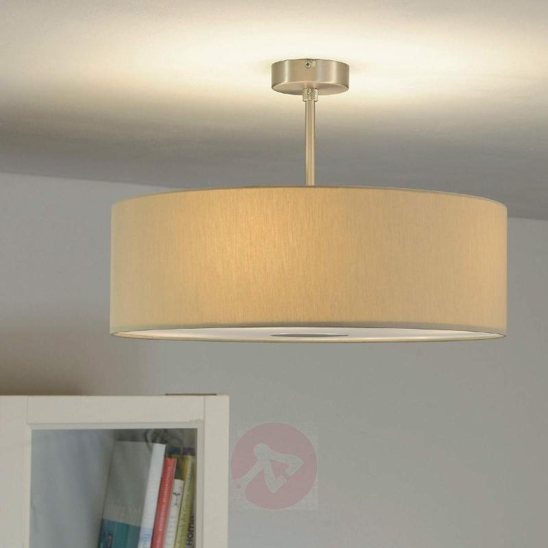Gala LED ceiling lamp with four light bulbs, beige - Ceiling Lights