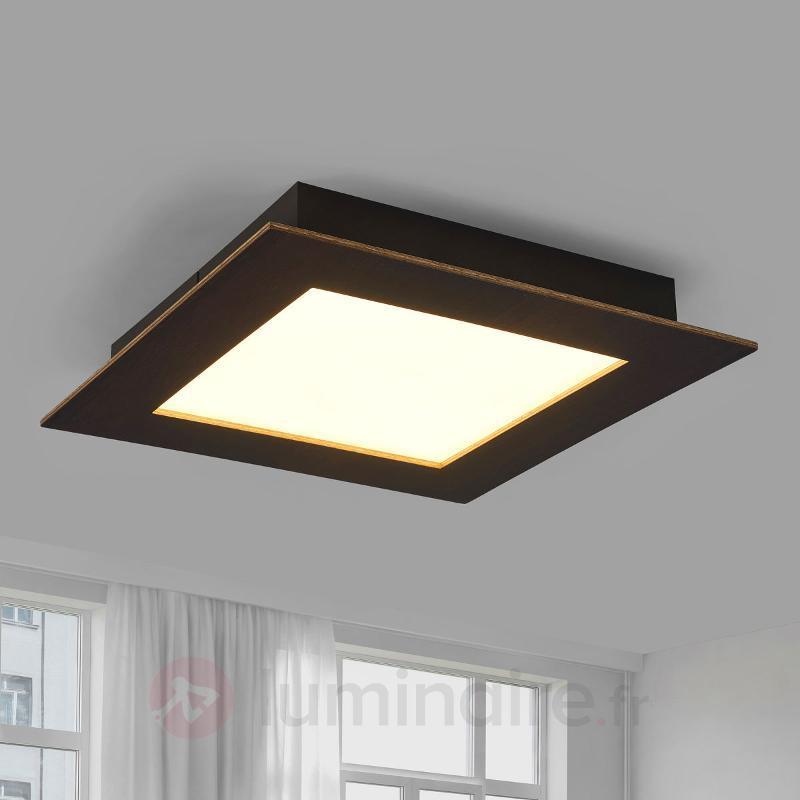 Deno - plafonnier LED en bois de chêne - Plafonniers LED