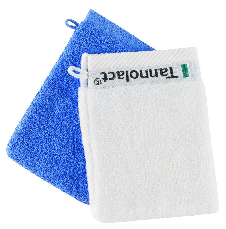 Baby- & Kinderfrottier - Beispiel: Individuell gewebter Waschhandschuh