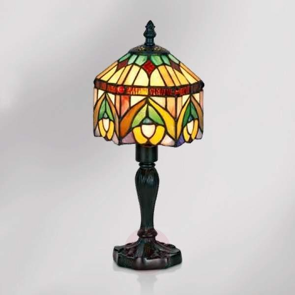 Decorative table lamp Jamilia in Tiffany style - Bedside Lamps