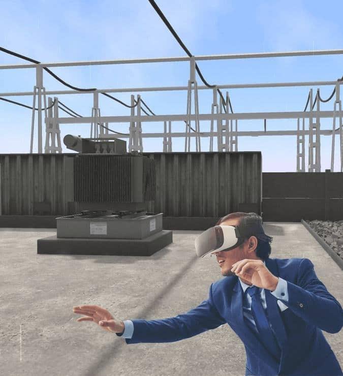 Solution de Réalité Virtuelle pour l'industrie