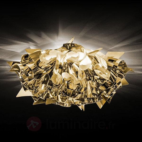 Plafonnier fantaisie Veli Mini, doré - Plafonniers laiton/dorés