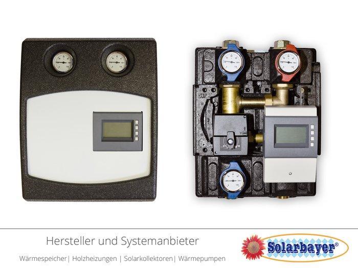 Solarbayer Rücklaufanhebestation  - RAS mit Beimischregler