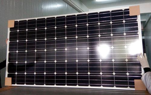 Sistema de energía solar 310w mono panel solar - energía limpia, 25 años de vida útil