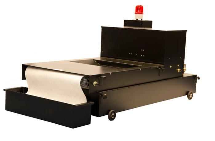 Paper belt filter Unimag PFA-500 -