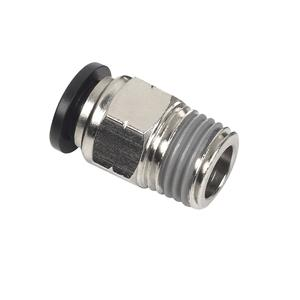 Pneumatic Fittings - PC Series Male Connector, Male Straight - Pneumatic Push in Fittings, Tube Fittings - Male Connector, Male Straight
