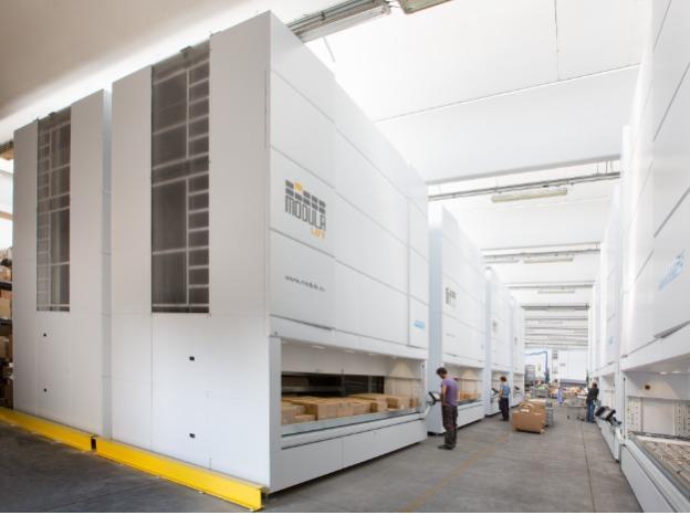 Modula Lift - L'innovativo magazzino verticale che rivoluziona lo stoccaggio