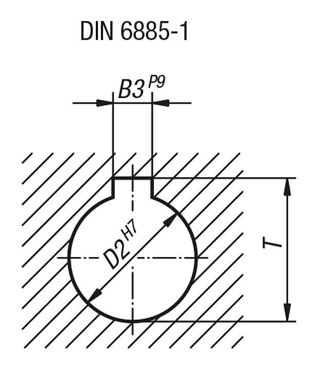 Volant plein en aluminium, similaire à DIN 950 - Volants, manivelles et poignées