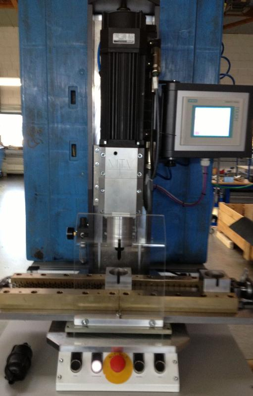 MTV-RSM with sliding table - Rotation welding machines