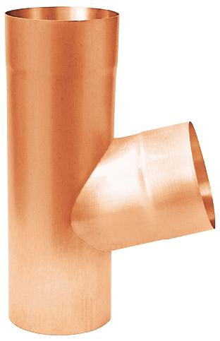 branch pipe 72° - copper - branch pipes