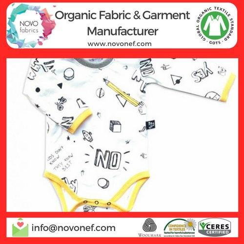 Gots Organic Cotton baby body trouser bottom romper