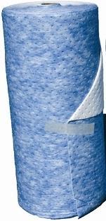 Rouleau absorbant hydrocarbures, tapis double... - RH 4496 AR Absorbants fibres et granulés