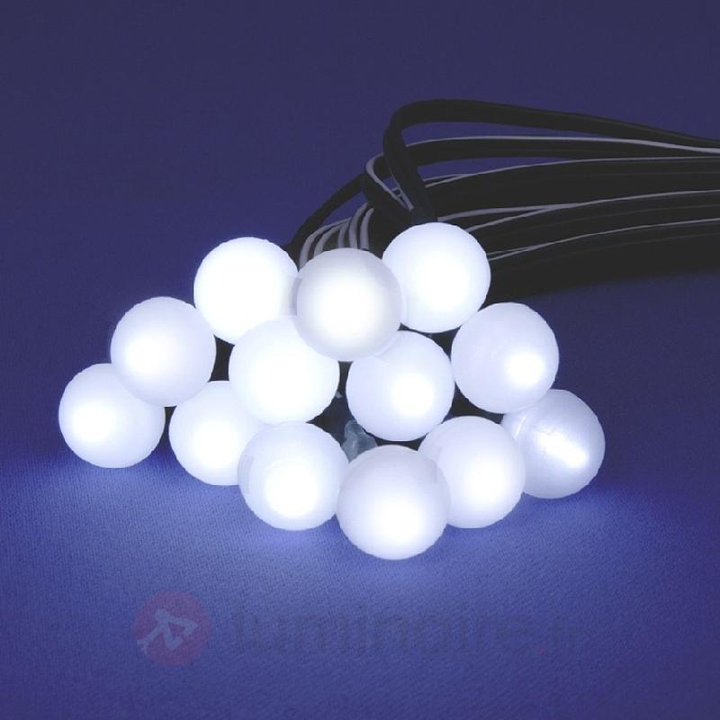 Guirlande lumineuse solaire à 48 boules - Guirlandes lumineuses LED d'extérieur