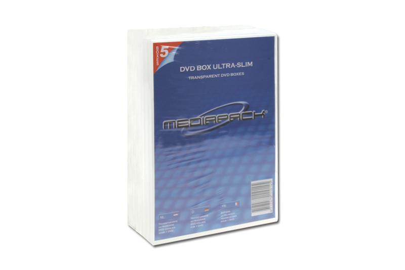 DVD Boxen Slimline - 10er Pack - MPI - 7mm - transparent - Retailverpackungen & Zubehör