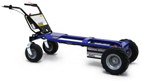 Transporteur Electrique ZALLYS Helpful S4L - Transporteur Electrique ZALLYS Helpful S4L