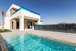Nueva promoción de viviendas en Bigastro, Villas con piscina - villas con parcela y piscina en Bigastro, a 20km del mar. En la Costa Blanca.