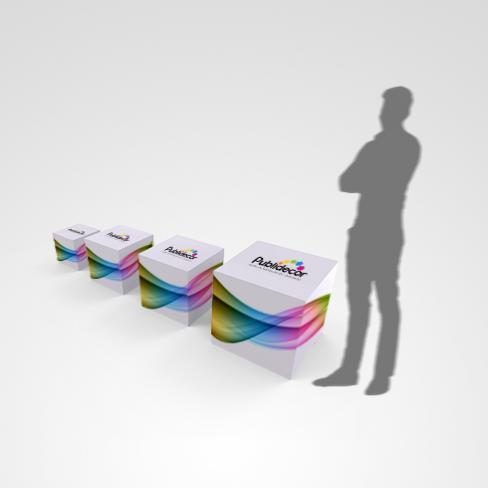 PLV cubes - Cubes publicitaires