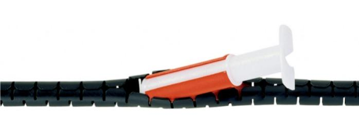 Manguera protectora para mazos Cable-Eater - Conducto de cables para agrupación de cables y conductores