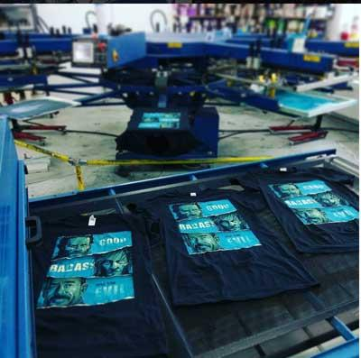 Full Service Screen Printing Apparel