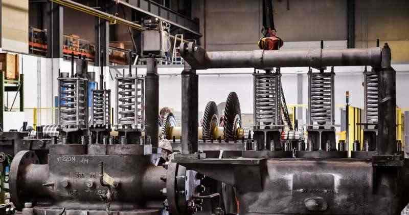 STEAM TURBINES - Impulse turbines, Reaction turbines, maintenance & repairs