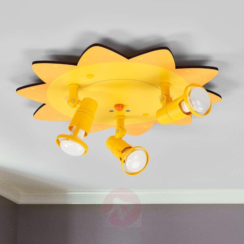 Amusing Sun ceiling light with 3 bulbs - Ceiling Lights