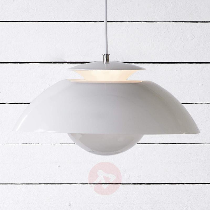 Elevate - white LED pendant light with oomph - indoor-lighting
