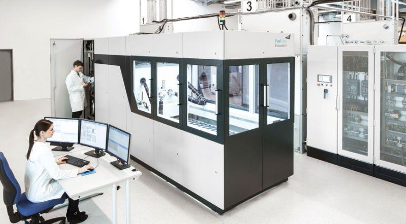 Prüfstand für PEM-Brennstoffzellenstacks über 150 kW - Prüfstand für das Testen von PEM-Komponenten über 150 kW