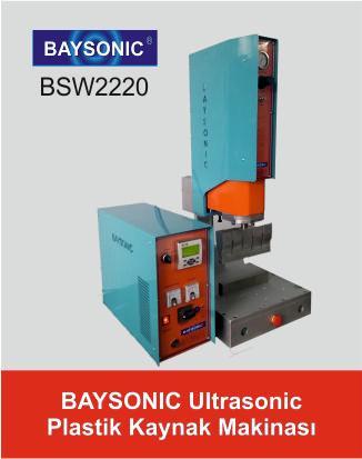 Baysonic Ultrasonik Plastik Kaynak Makinası
