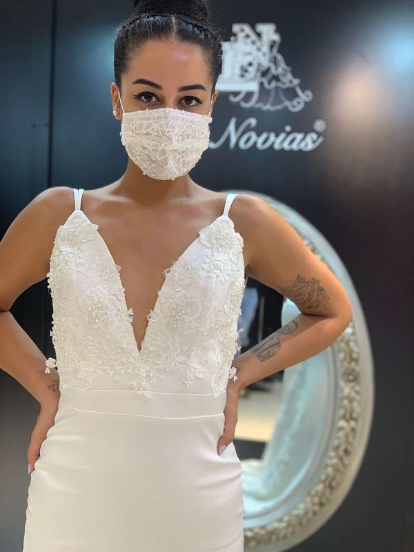 Bandinelli - Simple Weddingdress