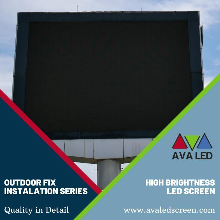 TN-OF seeria veekindel LED-ekraan - Totemi ja plakati AVA juhitav ekraan