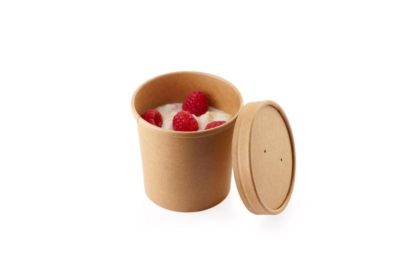 Soup container - Soup, ice-cream and porridge cartonboard container