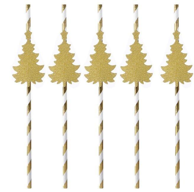 Paper straw - disposable decorative paper drinking straw for party or clubs