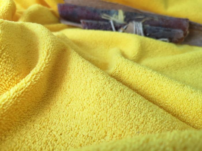 Microfiber terry fabric - Microfibre Terry Fabric knitted