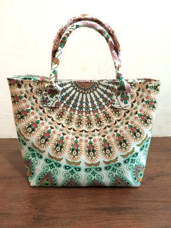 Ethnic Mandala Tote Bag Printed Women Shoulder Bag
