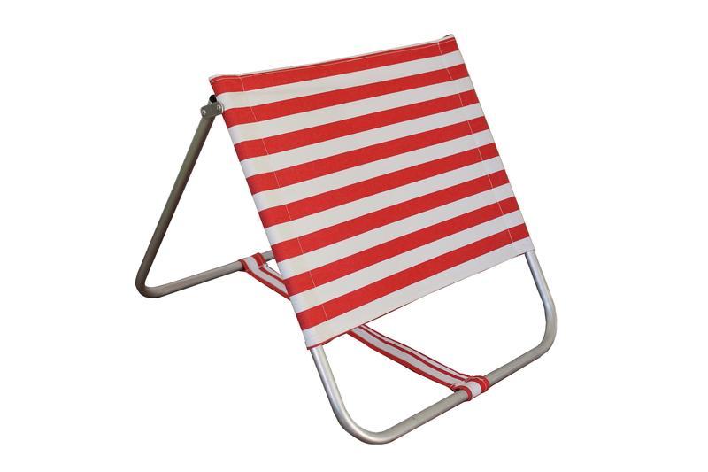 Siege/dossier pour la plage, la piscine, ou la campagne -
