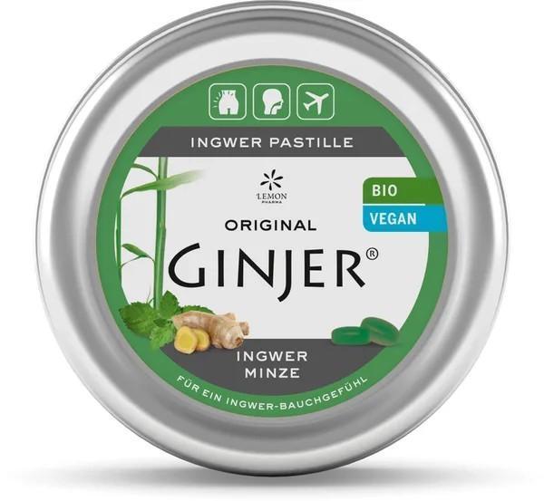 Pastille Bio Original Ginjer ® - Menthe - null