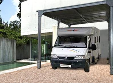 Abri camping car - Métal