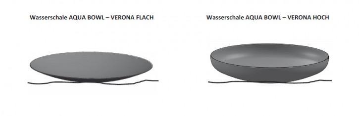 Water bowl corten steel Verona - null