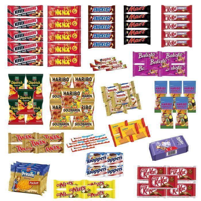 IMPORT EXPORT de confiseries - bonbons, chewing gums, chocolats, sucettes et biscuits