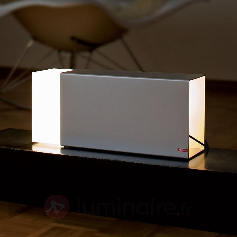 Lampe à poser ERASER 380 argentée - Toutes les lampes à poser