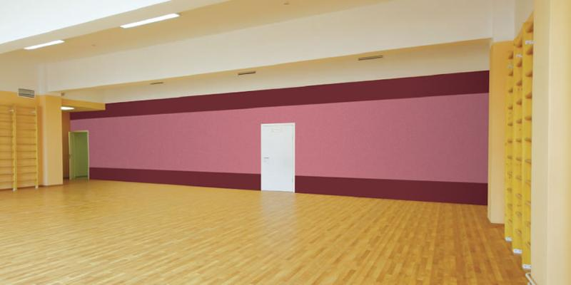 Sound absorbing panel system for high frequencies - Schoolsorba