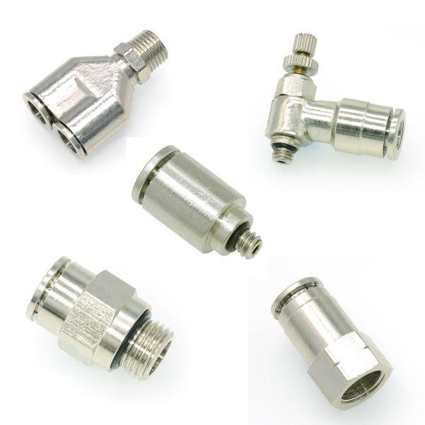 Brass Push in Fittings, Brass Push to Connect Fittings