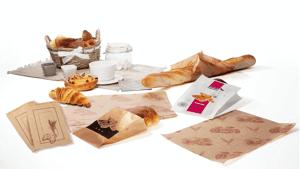 Sacs en papier pour boulangeries pâtisseries
